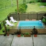 Pool im Hof